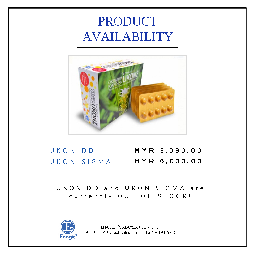 Product Availability – UKON