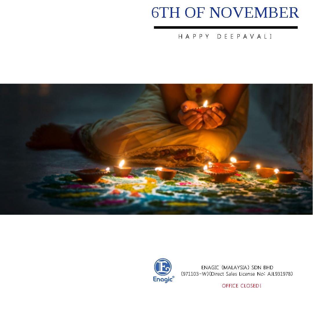 NOTICE : Happy Deepavali (Office Closed)