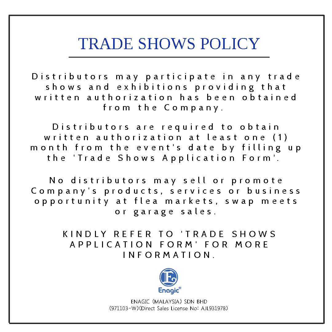 Trade Shows Policy