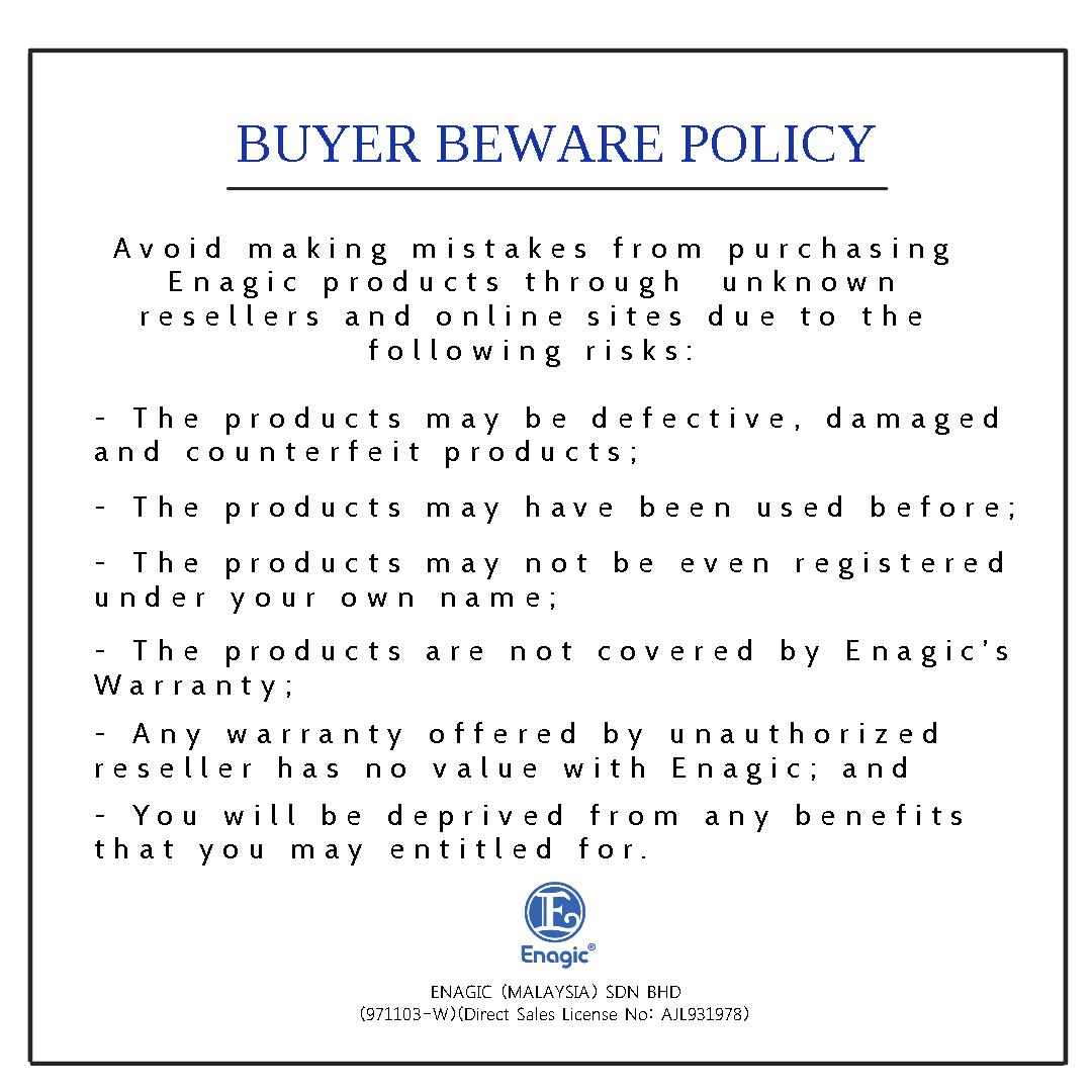 Buyer Beware Policy
