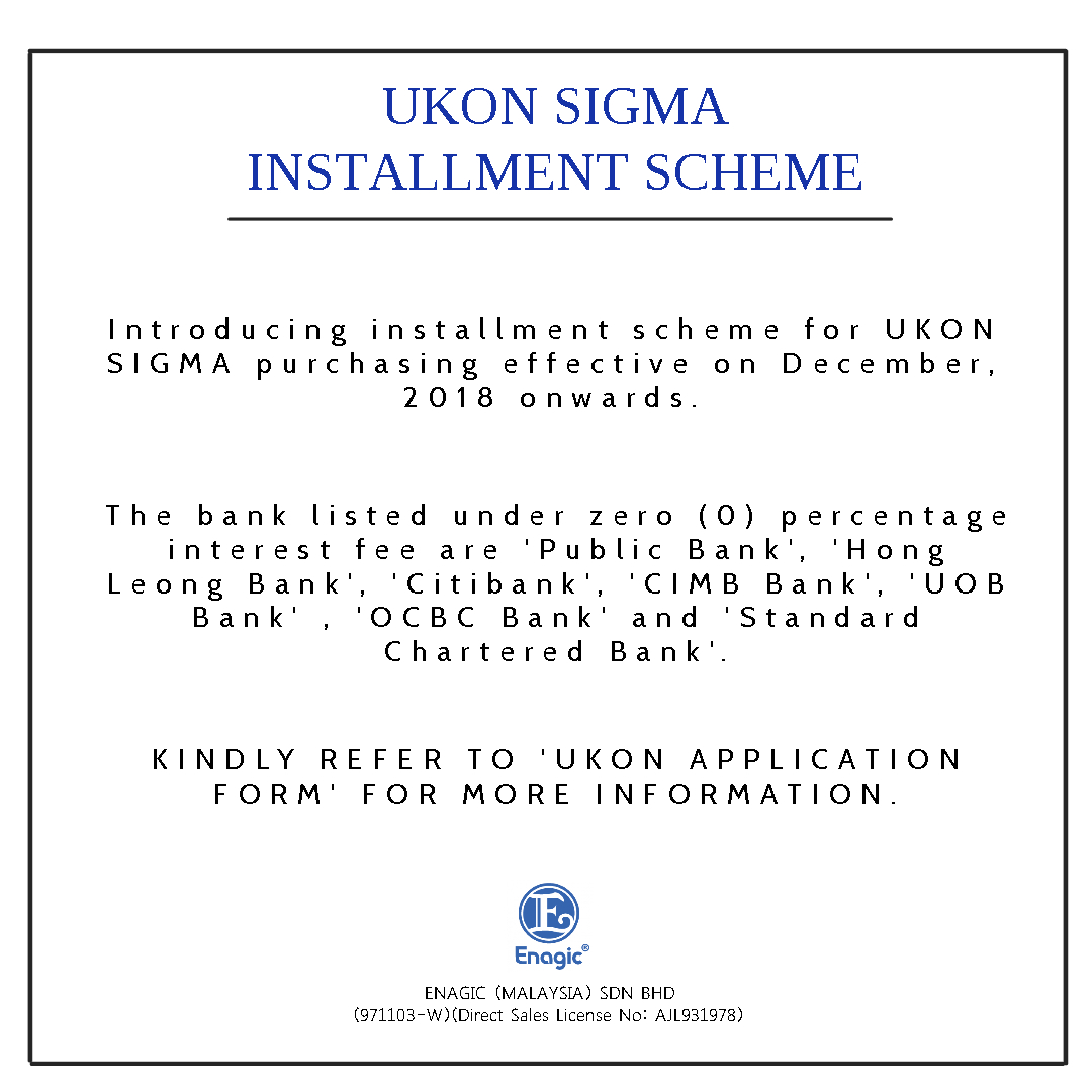 NOTICE | UKON SIGMA (Installment Scheme)