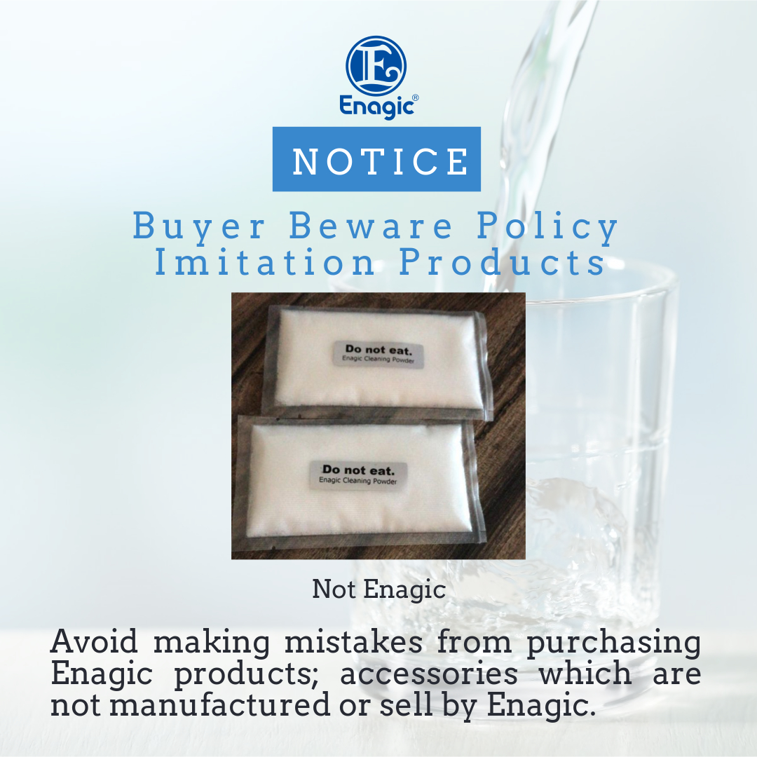 NOTICE | Buyer Beware Policy – Imitation Products