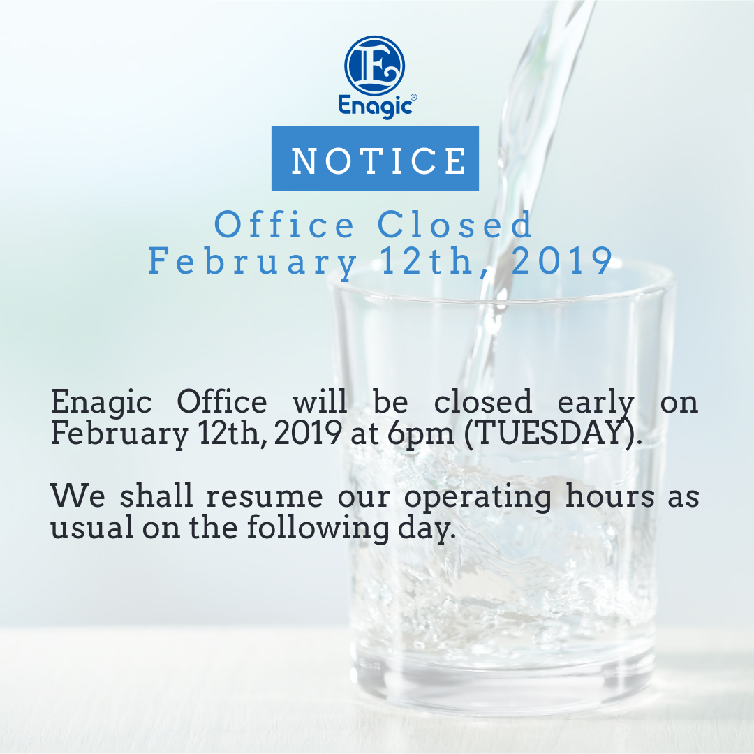 NOTICE Office Closed