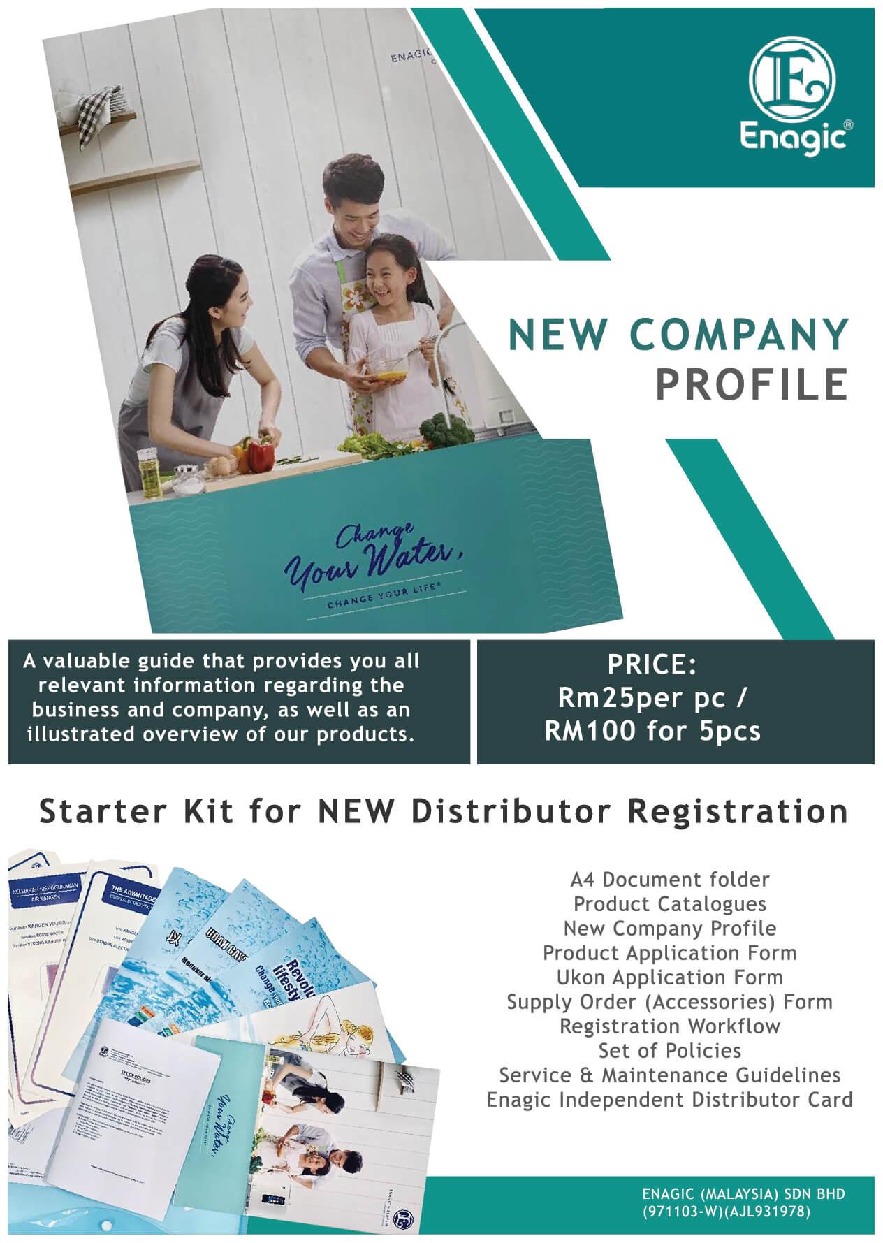 Enagic Malaysia New Company Profile