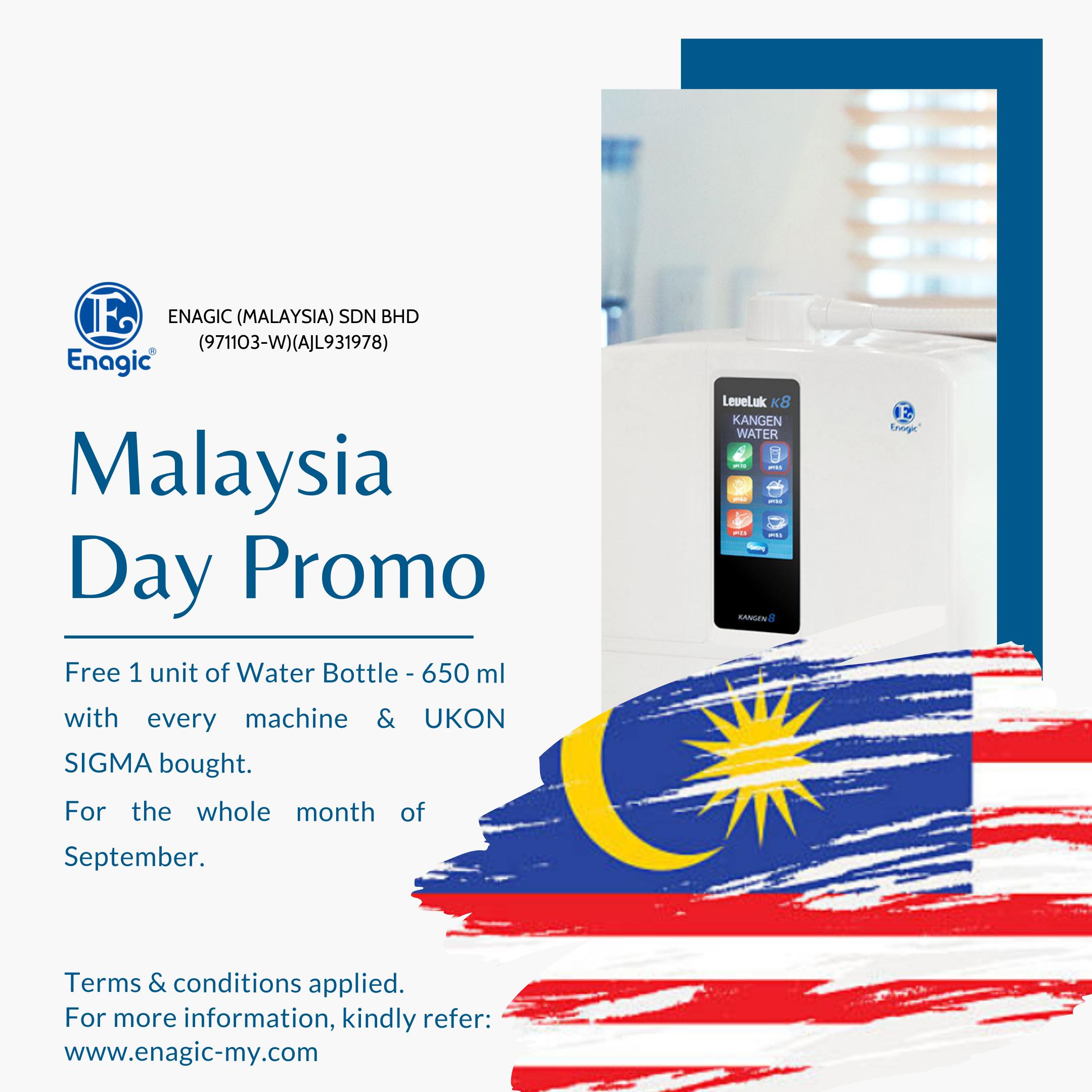 Malaysia Day Promotion 2019