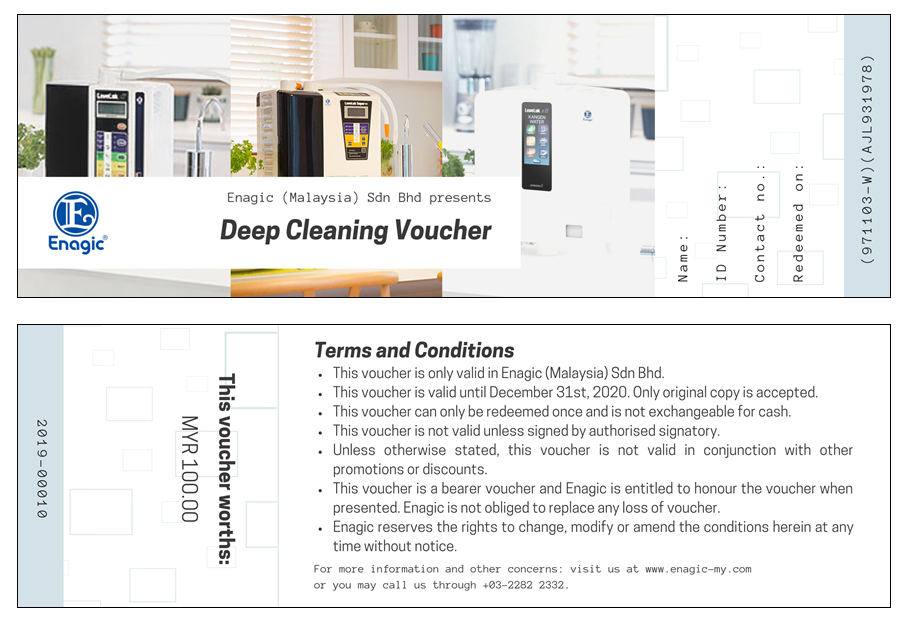 Deep Cleaning Voucher 2019