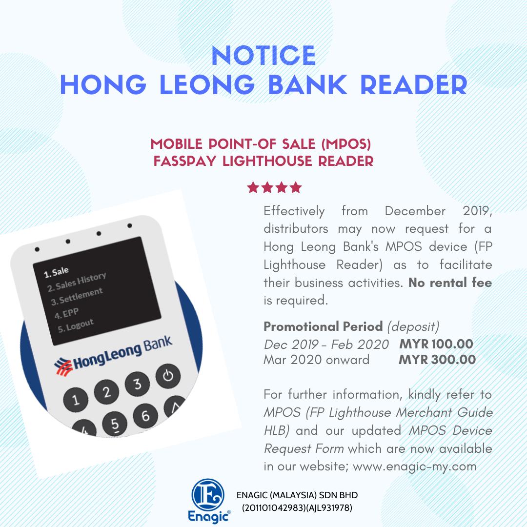 NOTICE | Hong Leong Bank Reader
