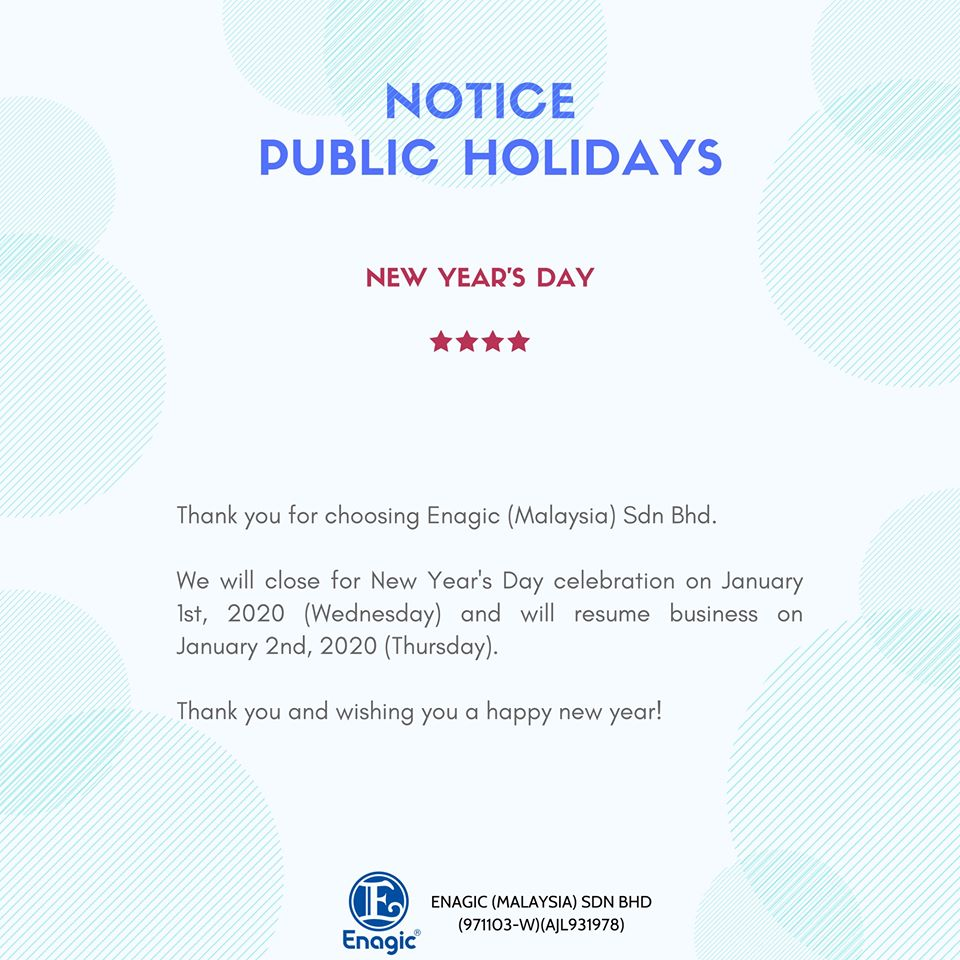 NOTICE | Public Holiday €� Office Closed
