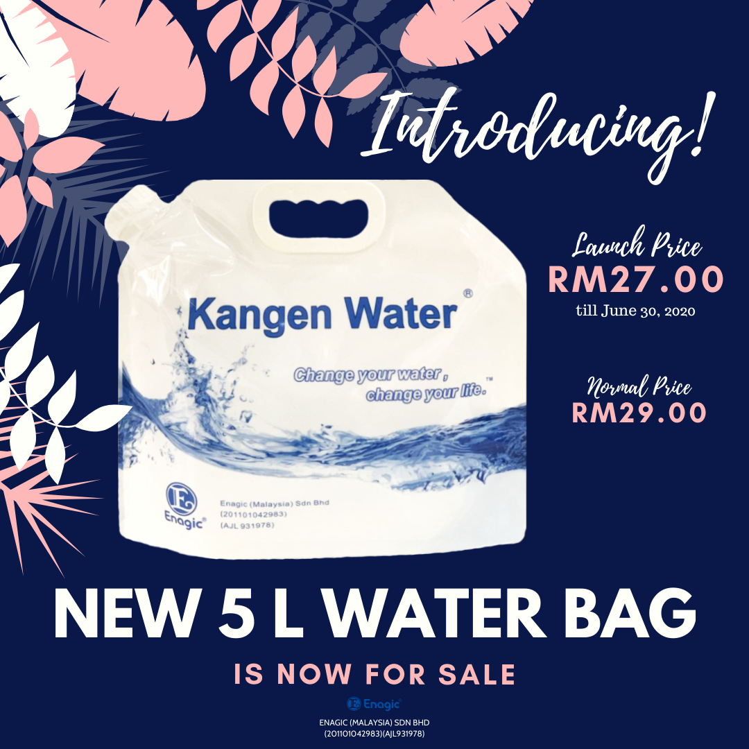 Introducing The NEW Look Of 5L Water Bag
