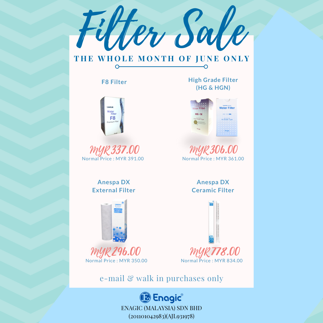 THE JUNE FILTER SALE IS HERE!
