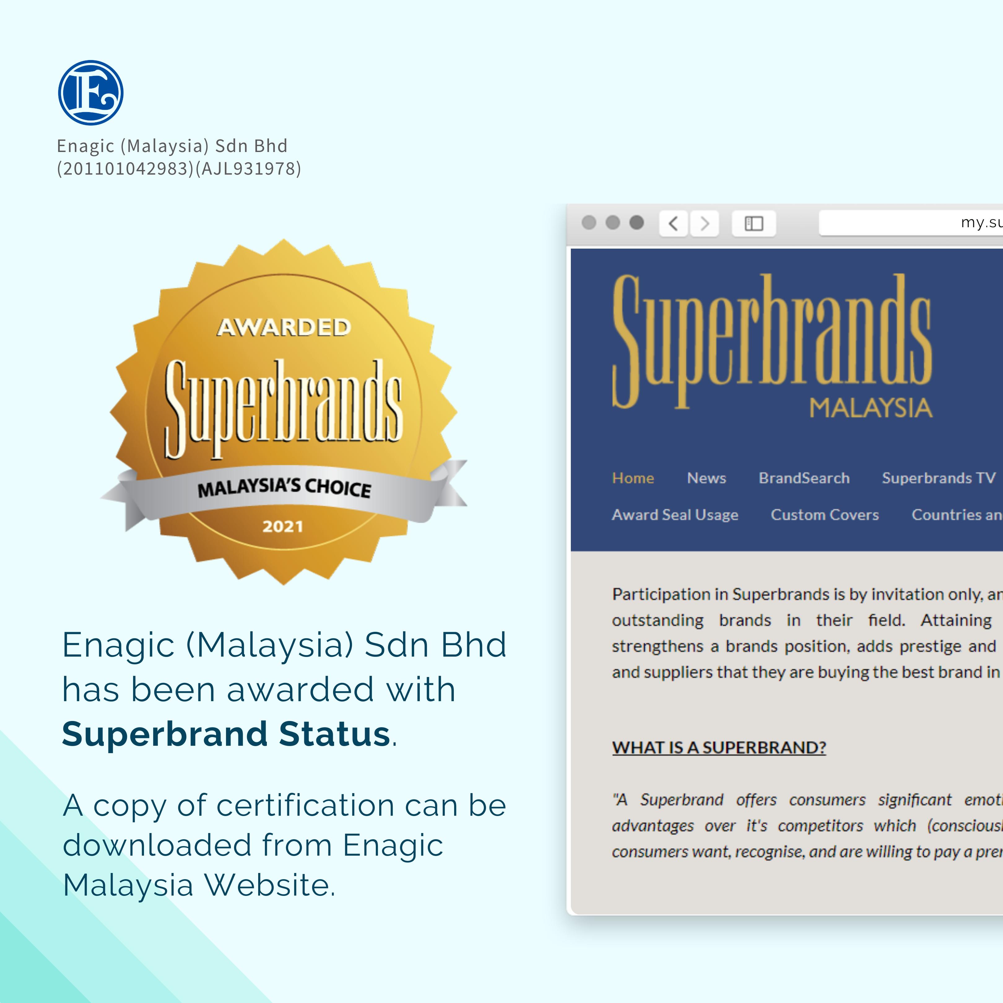 Superbrands Awards!