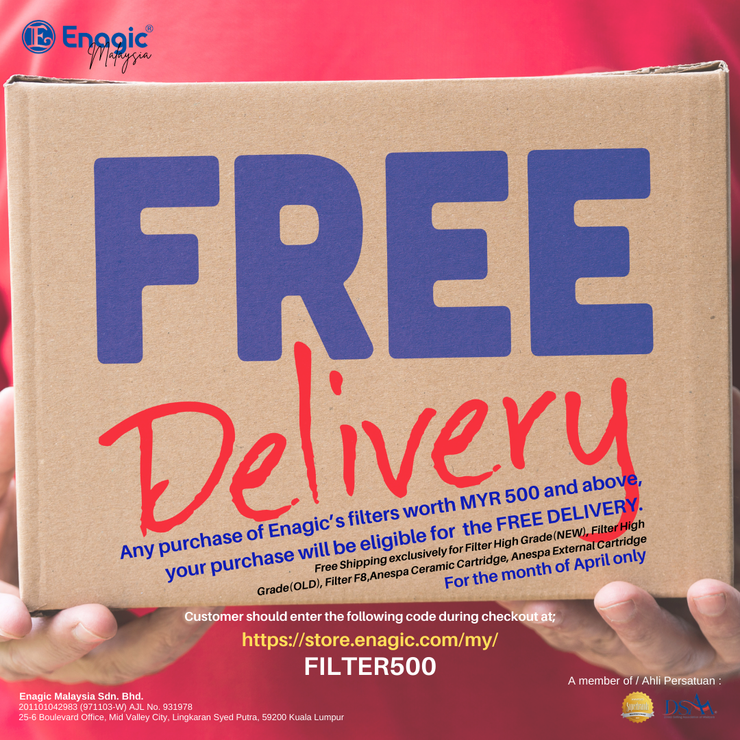 PROMO | FREE Delivery For Filter Only!